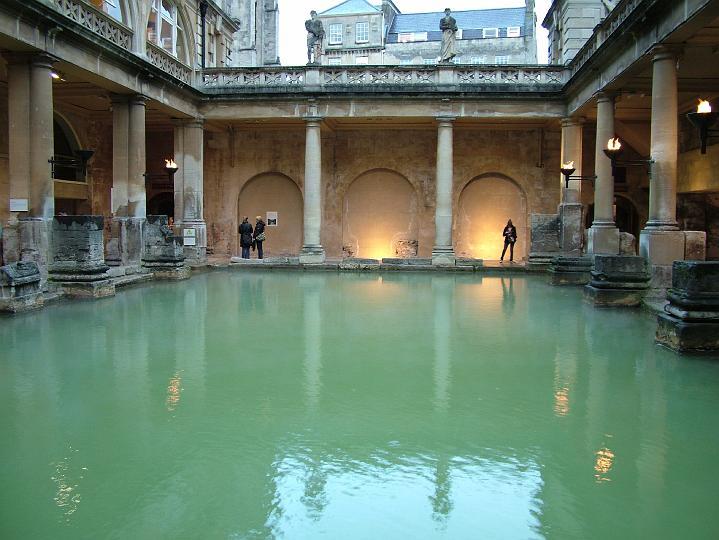 Baños Romanos De Bath:Termas Romanas